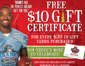 Give a gift card, get a kickback