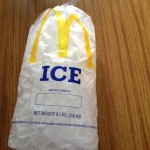 Save Money on Ice Bags at McDonalds