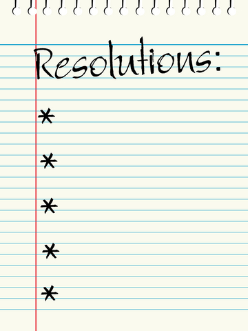 Top New Years Resolutions about Money