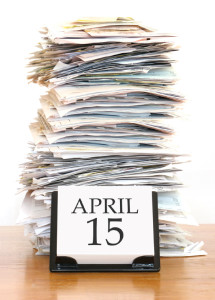2015 Tax Day for 2014 Federal Tax Return
