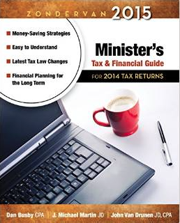 2015 Zondervan Minister's Tax Guide