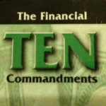 Financial 10 commandments