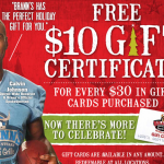 Holiday Gift Card Bonus
