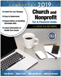 Zondervan church and nonprofit tax guide
